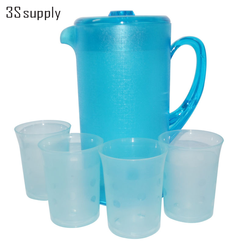 Water Bottle Volume: Large Volume 2400ml Plastic Water Bottle Tea Kettle