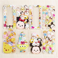 Cute Mickey Minnie Tsum Sulley Daisy Mike Ultra Slim Clear TPU Phone Cases Cover iPhone 5 5G 5S SE 6 6G 6S 6Plus 5.5 Inch - Denlais Electronic Co., Ltd store