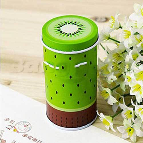 Dandale Fresh Fruit Cylinder Mini Storage Tea Box Coffee Tin(China (Mainland))