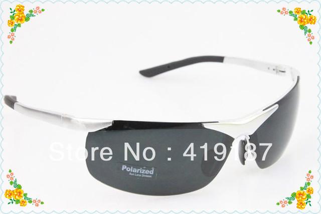 Male polarized sunglasses male aluminium magnesium alloy sun glasses sunglasses ultra-light mirror driver free shipping