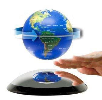 Electro Magnetic Levitation And Rotation Globe Gift Free Shipping