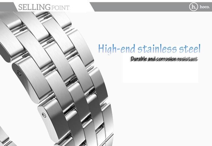 Носо часы группы из нержавеющей стали ремешок для часов с застежка для Apple , часы 42 мм
