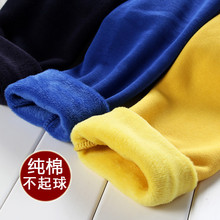 The new children's winter plus thick velvet leggings Korean foreign trade children not inverted cashmere warm pants bottoming(China (Mainland))