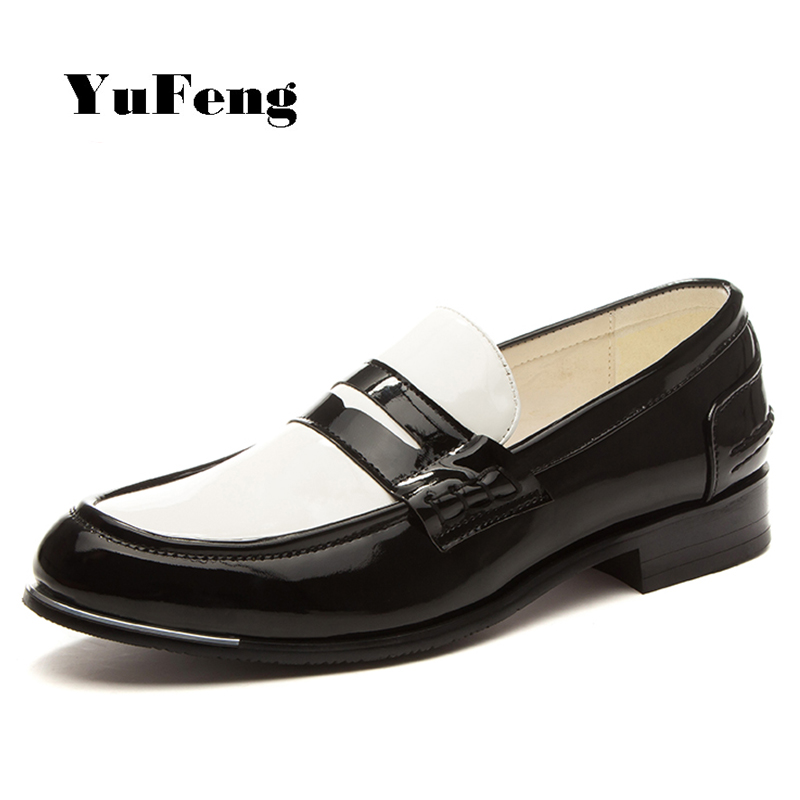 image black white s casual dress shoes