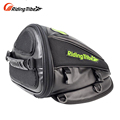 Riding Tribe Synthetic Leather Motorcycle Oil Tank Bag Motorbike Travel Tool Tail Bag Luggage Waterproof Riding