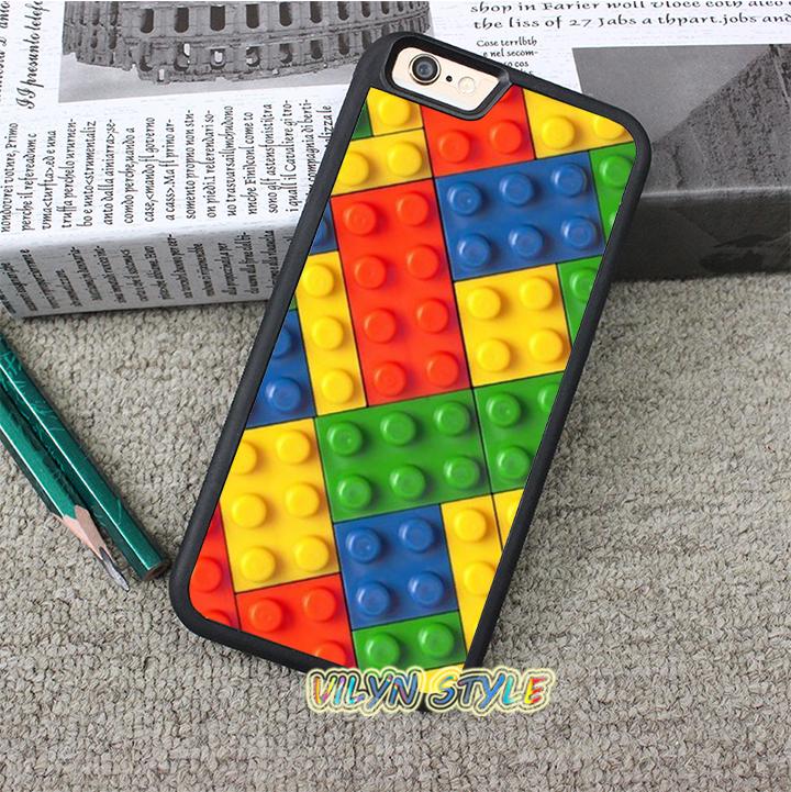 Lego Brick 2 Case cover for iphone 4 4S 5 5S 5C SE 6 plus 6s plus 7 7 plus #tz595(China (Mainland))