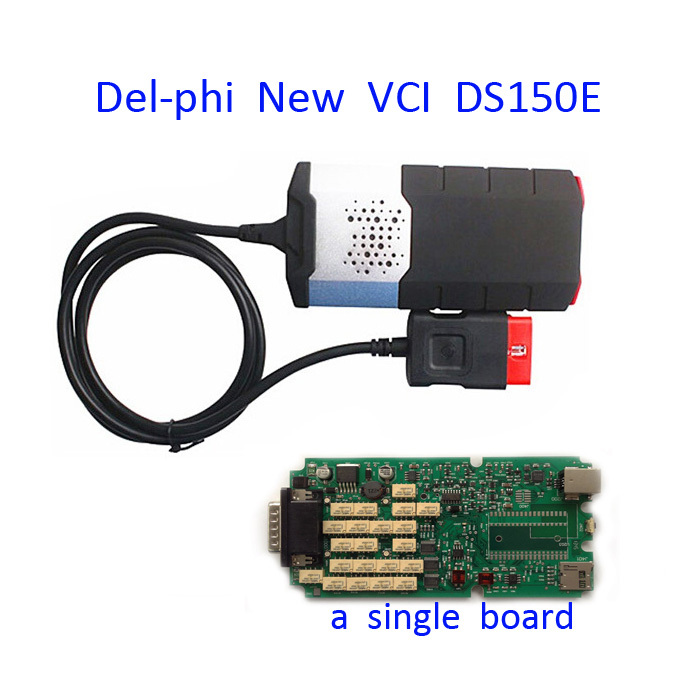 2015 A Single Board High Quality V2014 R2 for delphis DS150E without bluetooth TCS CDP plus for autocom OBD2 Cars and trucks(China (Mainland))