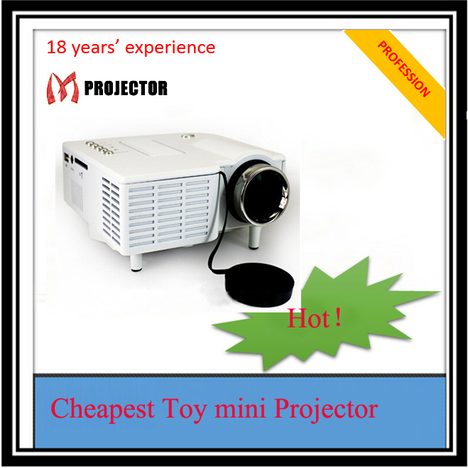 Portable lcd mini projector for iphone 6 in projectors for Movie projector for iphone 6