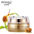 BIOAQUA Brand Skin Care Snail Moisturizing Face Cream Deep Whitening Hydrating Anti Aging Anti Wrinkle Day