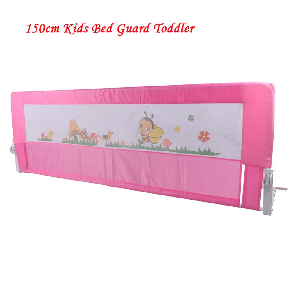 150CM Kids Bed Guard Toddler Safety Childs Bedguard Baby