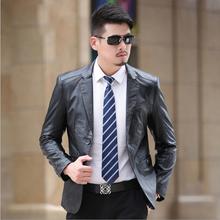 2016 Winter Sheep Skin Suit Leather Jacket Men Fashion Mens Leather Jackets And Coats Jaqueta De Couro Masculina Chaqueta Hombre