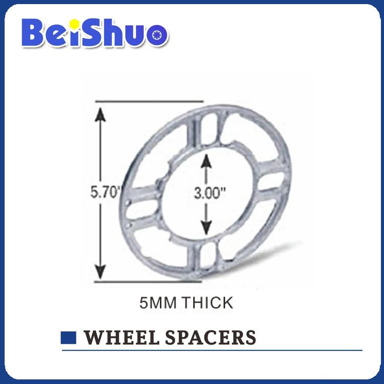 Car Aluminum Billet Wheel Spacer/Wheel Adapter alloy wheel spacer High polish Aluminium 6061 5 hole(China (Mainland))
