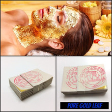 20PCS Gold Foil Mask Sheets Spa 24K Gold Face Mask Sheet Thailand Beauty Salon Equipment Anti-Wrinkle Lift FaceBeauty Care