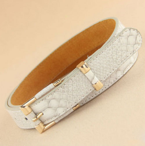 Delicate new Female grainy faux leather belt grain waist belt for Lady trend Free Size Hot