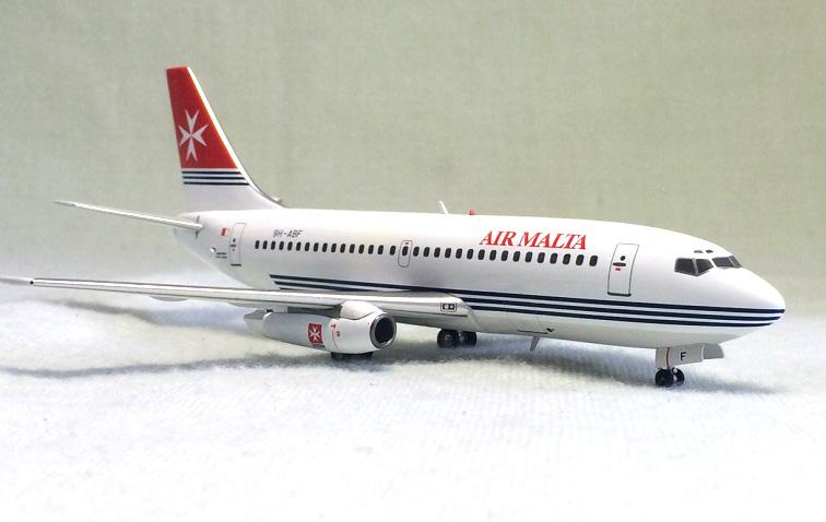 Фотография Inflight 200 1: 200 Air Malta Boeing 737-200 Alloy aircraft model 9h-abf Limited Collector Model