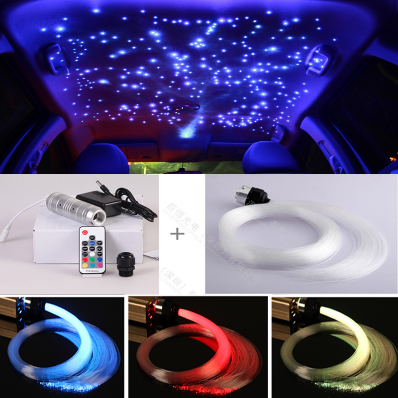 Car Ceiling Led Lights Stars : Popular fiber optic lighting star ceiling buy cheap
