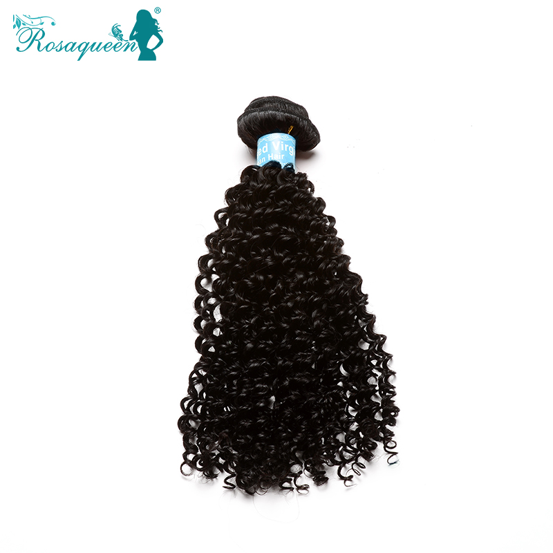 Malaysian Kinky Curly Virgin Hair Unprocessed 100% Human Hair Weave Curly Natural Color Afro Kinky Curly Hair Extensions 10