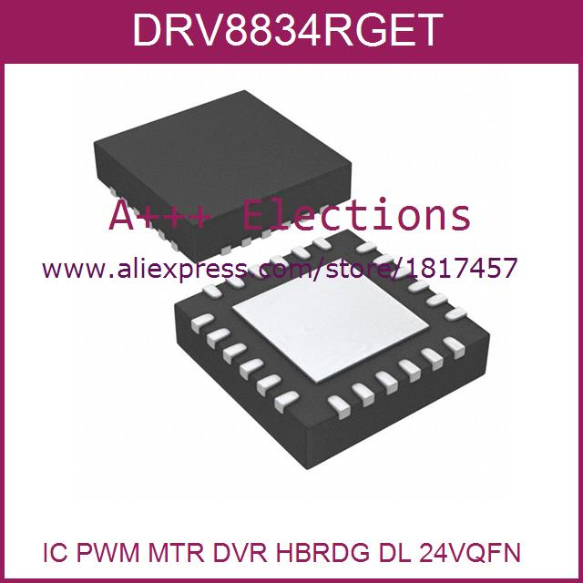 DRV8834RGET 8834 DRV8834 24-QFN  5pcs Integrated Circuits Types