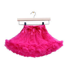 2015 new Baby infant girl tutu pettiskirt photography Fluffy skirt toddler newborn princess skirt 0-2 Ys baby gift 20 colors(China (Mainland))