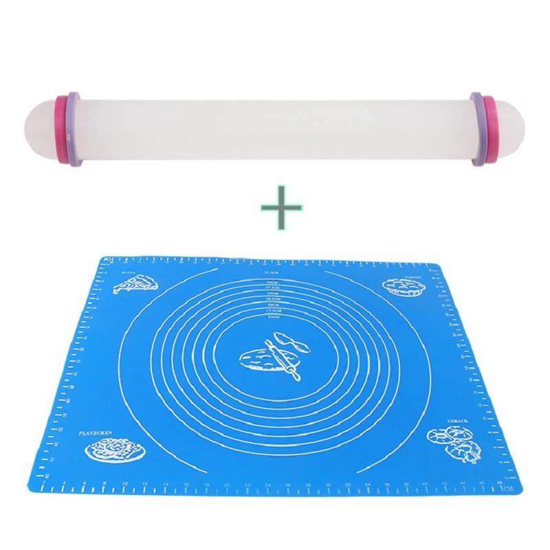 Silicone Pastry Mat Large Silicone Mat 2pcs Set Silicone