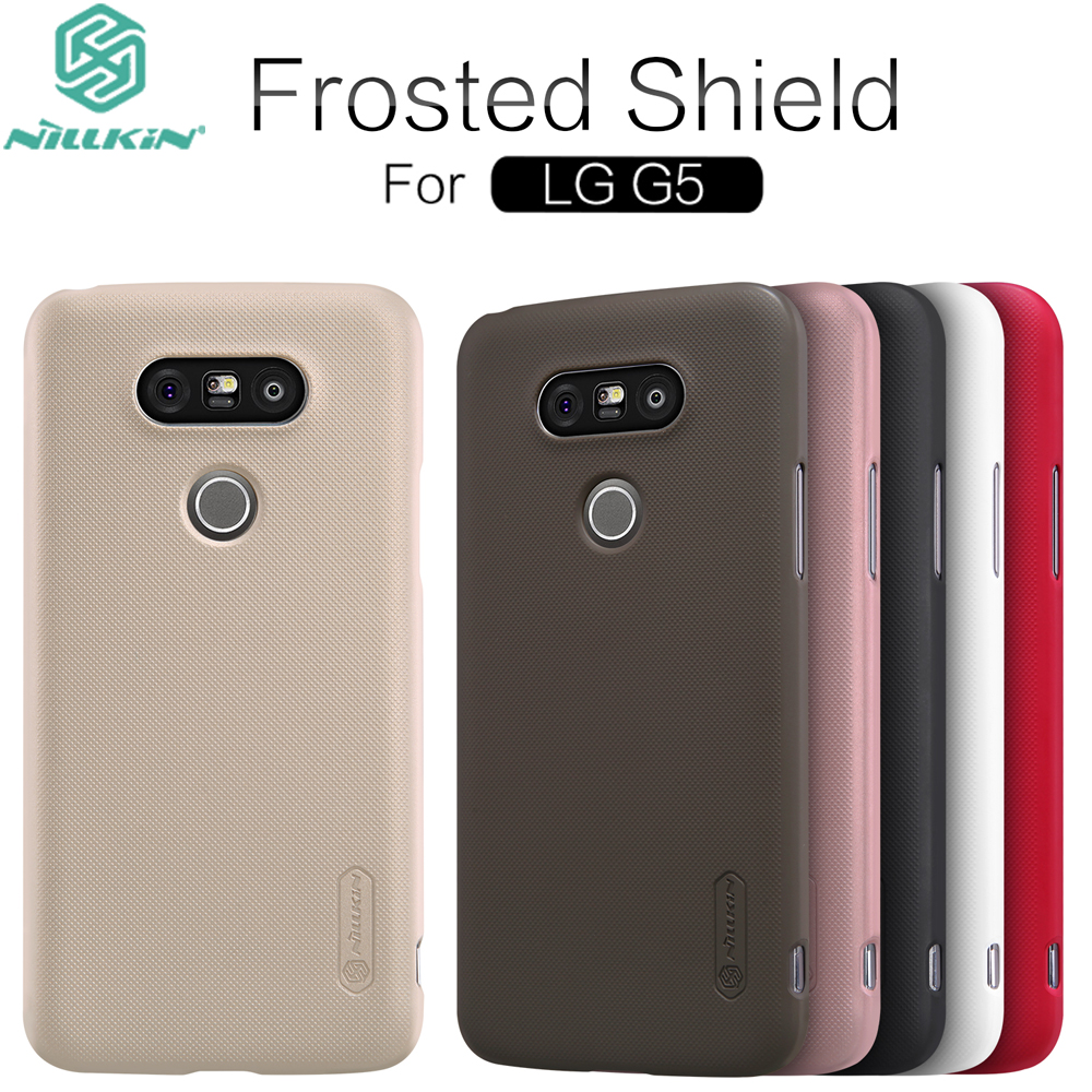 For LG G5 Case 100 Original Nillkin Frosted Shield Matte Anti Slip Hard Plastic Protective font