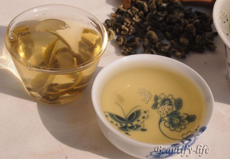 Good quality 250g BiluoChun Green Tea Jiangsu Green Snail Spring Zip bag package Pilochun Tea Promotion