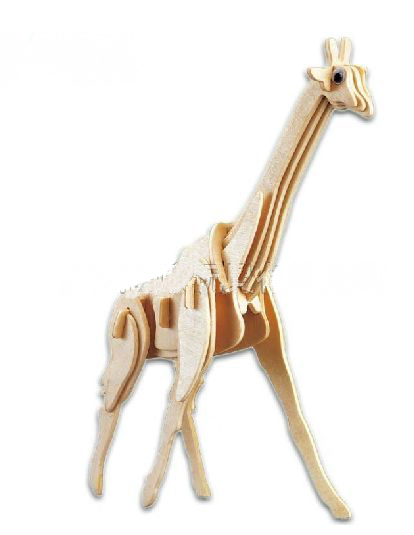 Diy Giraffe Toy Toys Wooden Giraffe Model