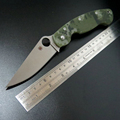 Hot sale Efeng C36 Spyder Folding Blade Knife Tactical 9Cr Blade G10 Handle Camping Knives Survival