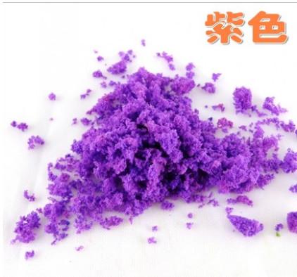 06 Home & Garden tree simulation tree powder colored sponge DIY sand table tree model manual material powder(China (Mainland))