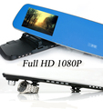 4 3 Dual Lens Car Vehicle Blackbox DVR Allwinner A20 Full HD 1080p Recorder G Sensor