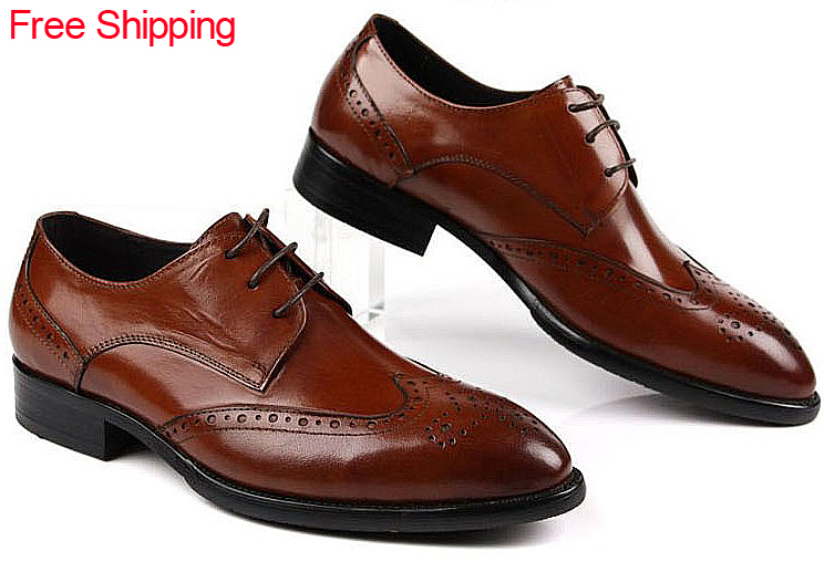 Mens business casual work Leather Oxfords Dress Shoes Pointed toe Lace-Up Eur 37 44 Retail/