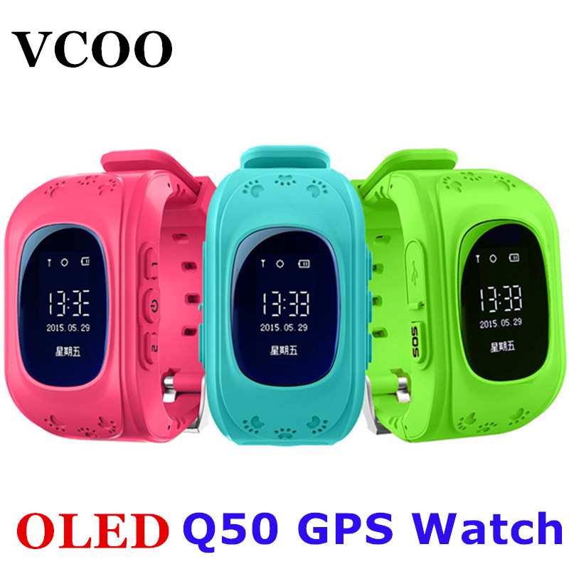 Smart Phone Watch Children Kid Wristwatch G36 Q50 GSM GPRS GPS Locator Tracker Anti-Lost Smartwatch Child Guard for iOS Android(China (Mainland))