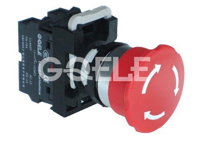 LA115-A2-11ZS Emergency stop switch