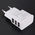 High Quality EU 3 USB Port Micro USB Charger USB Adapter HUB EU Plug For Samsung