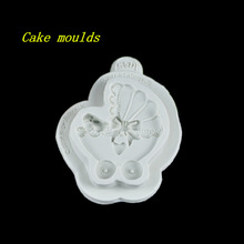 Buy 100*78*18mm Baby carriages shape silicone mold fondant cake chocolate decoration mould baking tools for $4.74 in AliExpress store