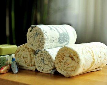 JF2844 Full carbon environmental face towel printed deer towel