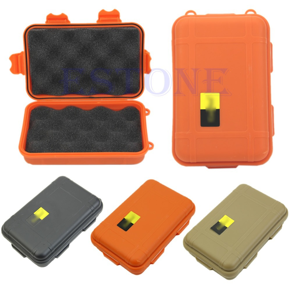 1PC Plastic Waterproof Airtight Survival Case Container Storage Travel Carry Box New(China (Mainland))