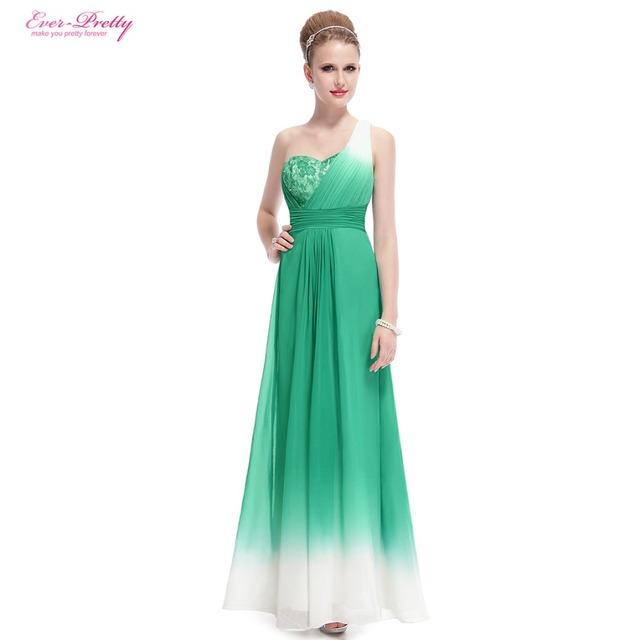 Бесплатная доставка платья выпускного вечера одно плечо изумрудно-зеленый Elegal ...