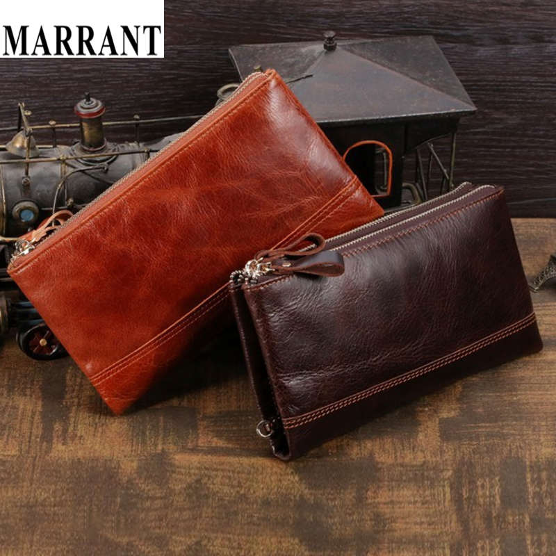 J.M.D 2014 100% Crazy horse Leather Wallet Purse men vintage genuine leather Wallets direct manufacturers clutch bags 8027