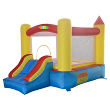 YARD Inflatable Bouncer Outdoor Indoor Play Mini Trampoline Best Gift for Kids Blower Included(China (Mainland))
