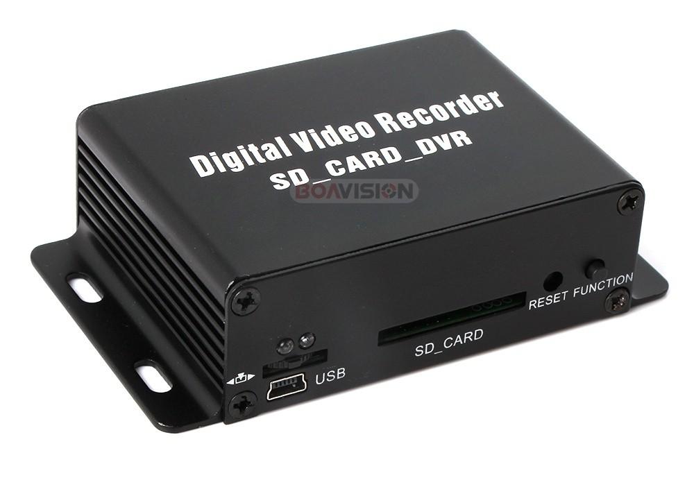 1ch mini dvr cctv security camera audio video sd card