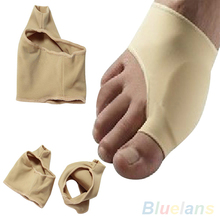 1Pair Footful Bunion Pads Sleeves Hallux Valgus Protector Corrector Pain Relief  2MOI