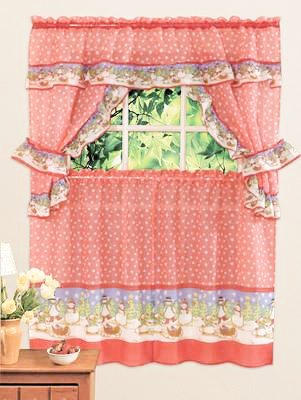 5 piece / 1 set Rod pocket curtains Sheer tulle Window valance Decorative door kitchen curtains Free shipping(China (Mainland))