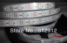 5m DC5V WS2812B led pixel srip,IP68 in silicon tube,30pcs WS2812B/M with 30pixels;36W;white pcb(China (Mainland))