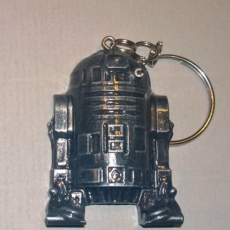 Star Wars R2D2 Metal Keychains Pendant Key Chain Key Ring 10PC/LOT<br><br>Aliexpress