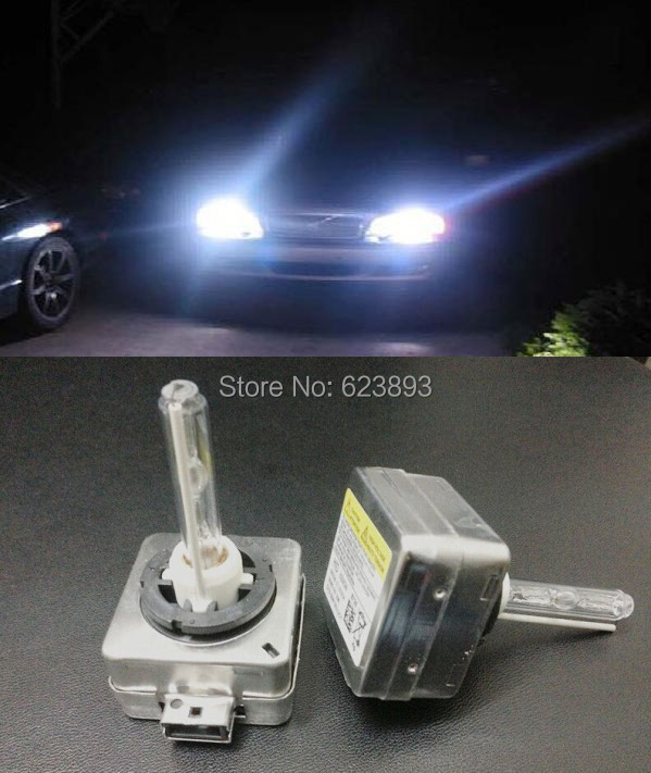 Aliexpress.com : Buy Free shipping, 2x Xenon HEADLIGHT HID Bulbs D3S 6000K 35W BULB HEAD LIGHT ...