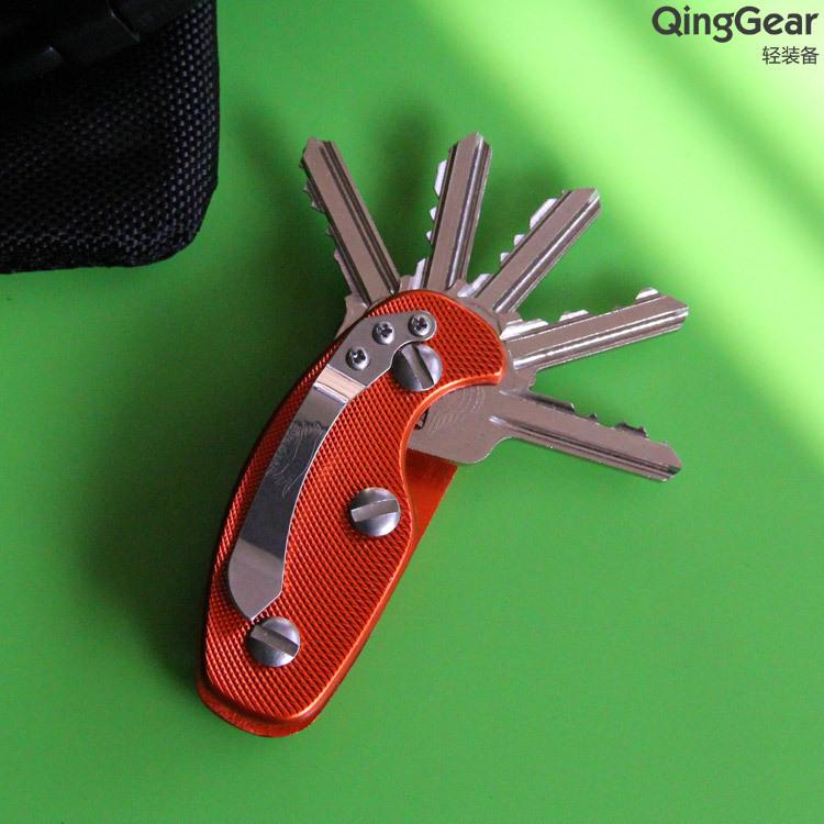 Unique Lightweight Folding Outdoor Keys Organizer Holder Pocket Key Holder Key Bar EDC TOOLFree Shipping(China (Mainland))