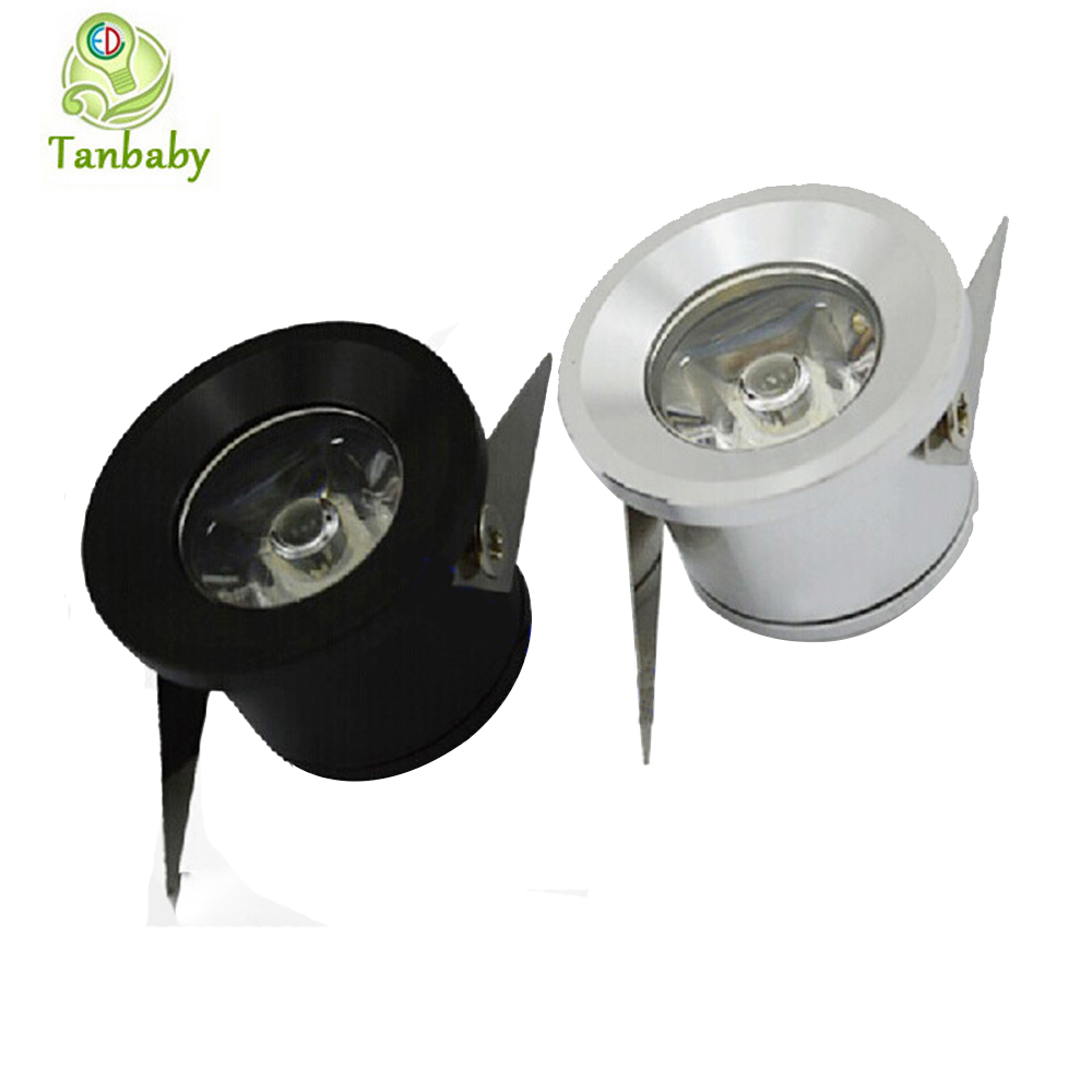 tanbaby 5pcs lot mini led spot downlight 1w 3w cabinet. Black Bedroom Furniture Sets. Home Design Ideas