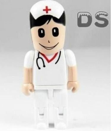 Catoon Plastic Red Cross Nurse model USB 2.0 Flash Memory Pen Drive Stick 4GB 8GB - LOVECOM Store store