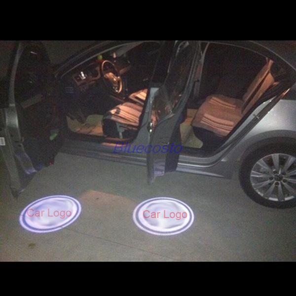 2014 New LED Car Vehicle Door Laser Projector Logo Ghost Shadow Light Audi BMW Chevrolet Honda TOYOTA Ford, - BlueCosto Online Store store
